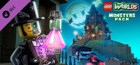乐高世界怪兽(c)华纳兄弟互动娱乐出品LEGO.Worlds.Monsters,CODEX
